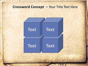 Postal Retro Plantillas de Presentaciones PowerPoint - Diapositiva 19