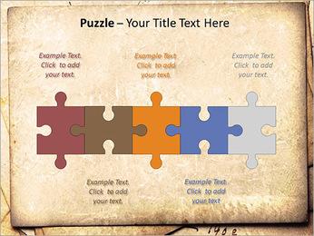 Postal Retro Plantillas de Presentaciones PowerPoint - Diapositiva 21