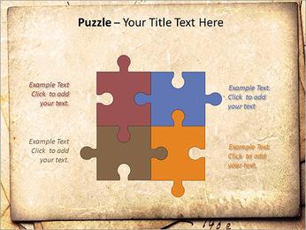 Postal Retro Plantillas de Presentaciones PowerPoint - Diapositiva 23