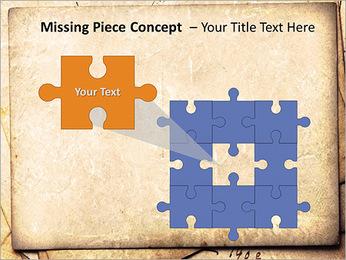 Postal Retro Plantillas de Presentaciones PowerPoint - Diapositiva 25