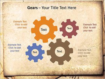 Postal Retro Plantillas de Presentaciones PowerPoint - Diapositiva 27