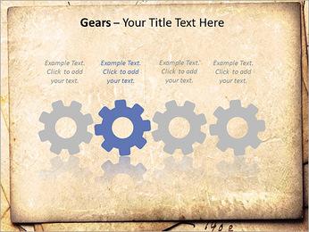 Postal Retro Plantillas de Presentaciones PowerPoint - Diapositiva 28