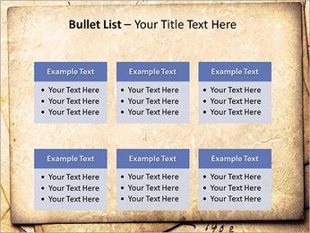 Postal Retro Plantillas de Presentaciones PowerPoint - Diapositiva 36