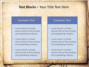 Postal Retro Plantillas de Presentaciones PowerPoint - Diapositiva 37