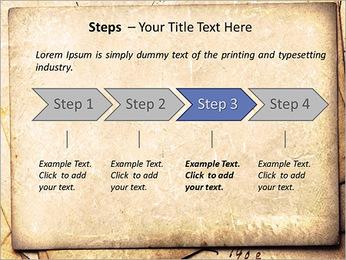 Postal Retro Plantillas de Presentaciones PowerPoint - Diapositiva 4
