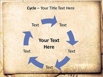 Postal Retro Plantillas de Presentaciones PowerPoint - Diapositiva 42