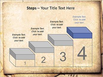 Postal Retro Plantillas de Presentaciones PowerPoint - Diapositiva 44