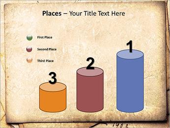 Postal Retro Plantillas de Presentaciones PowerPoint - Diapositiva 45