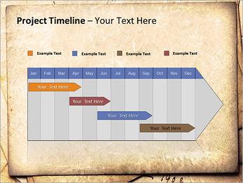 Postal Retro Plantillas de Presentaciones PowerPoint - Diapositiva 5