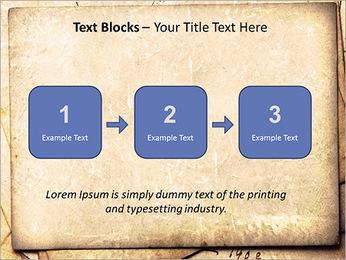 Postal Retro Plantillas de Presentaciones PowerPoint - Diapositiva 51