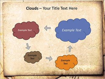 Postal Retro Plantillas de Presentaciones PowerPoint - Diapositiva 52
