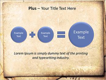 Postal Retro Plantillas de Presentaciones PowerPoint - Diapositiva 55