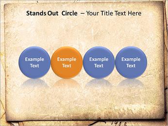 Postal Retro Plantillas de Presentaciones PowerPoint - Diapositiva 56
