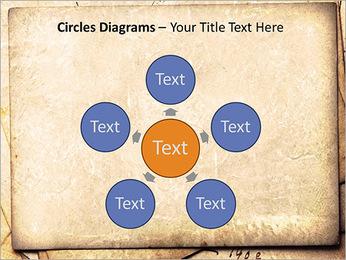 Postal Retro Plantillas de Presentaciones PowerPoint - Diapositiva 58