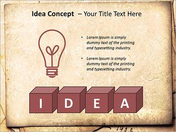 Postal Retro Plantillas de Presentaciones PowerPoint - Diapositiva 60