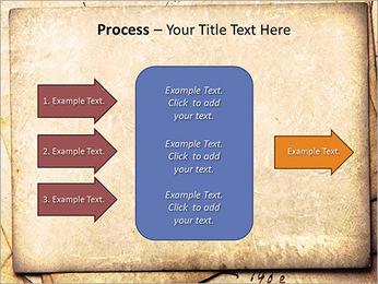Postal Retro Plantillas de Presentaciones PowerPoint - Diapositiva 65