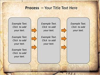 Postal Retro Plantillas de Presentaciones PowerPoint - Diapositiva 66