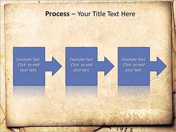 Postal Retro Plantillas de Presentaciones PowerPoint - Diapositiva 68