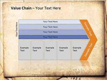 Postal Retro Plantillas de Presentaciones PowerPoint - Diapositiva 7