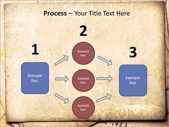 Postal Retro Plantillas de Presentaciones PowerPoint - Diapositiva 72