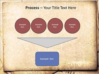Postal Retro Plantillas de Presentaciones PowerPoint - Diapositiva 73