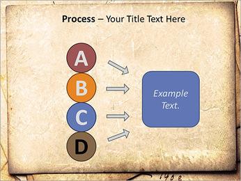 Postal Retro Plantillas de Presentaciones PowerPoint - Diapositiva 74