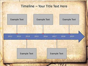 Postal Retro Plantillas de Presentaciones PowerPoint - Diapositiva 8