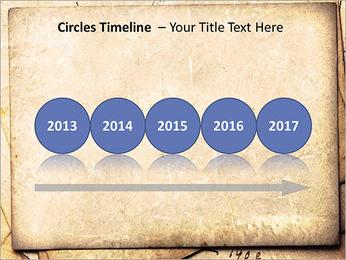 Postal Retro Plantillas de Presentaciones PowerPoint - Diapositiva 9