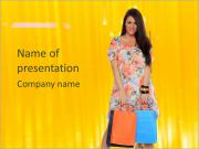 Shopping Time PowerPoint Templates