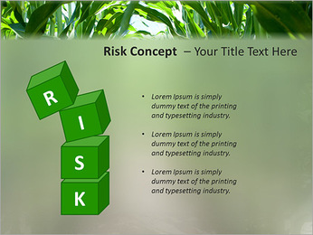 Récolte de maïs Modèles des présentations  PowerPoint - Diapositives 61