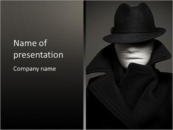 Spy Man PowerPoint Template