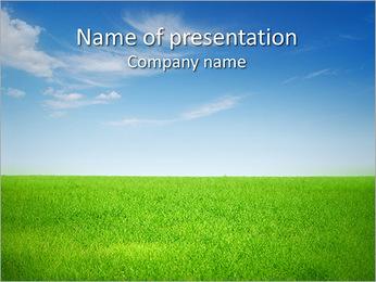 Grass Field Modèles des présentations  PowerPoint