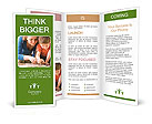 Mother And Sun Baking Brochure Templates