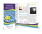 Optimistic Face Brochure Templates