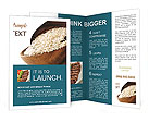 Rice Dish Brochure Template