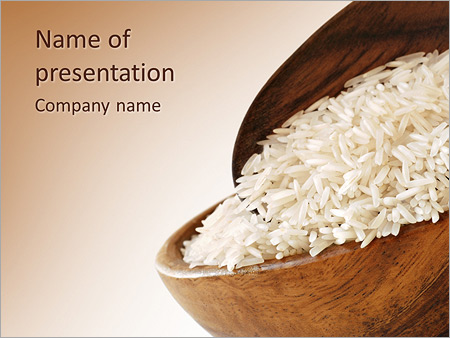 Rice powerpoint template smiletemplates rice dish powerpoint template toneelgroepblik