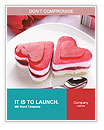 Heart Cake Word Templates