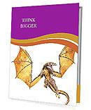 Scary Dragon Presentation Folder