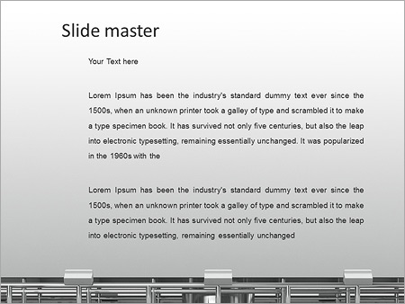 Highway Billboard PowerPoint Template - Slide 2