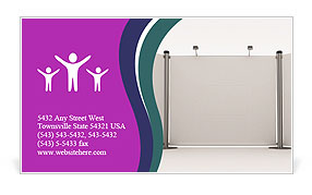 Exhibition Stand Business Card Templates