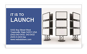 Billboard Business Card Templates