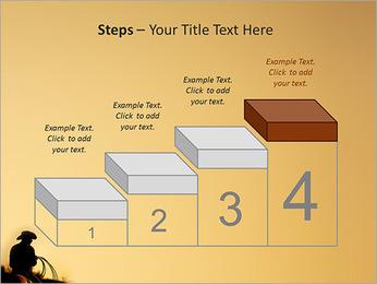 Tour de cowboy Modèles des présentations  PowerPoint - Diapositives 44