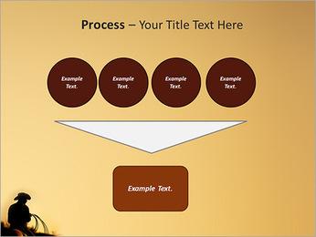 Tour de cowboy Modèles des présentations  PowerPoint - Diapositives 73