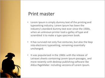 Tour de cowboy Modèles des présentations  PowerPoint - Diapositives 76