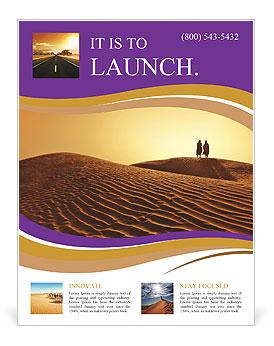 desert flyer template design id 0000004299 smiletemplates com