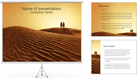 desert powerpoint template amp backgrounds id 0000004299