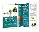 Growth Of Tree Brochure Templates