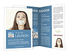 Closed Mouth Brochure Template