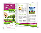 Planting Trees Brochure Templates