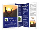 Creative Sunset Photo Brochure Templates